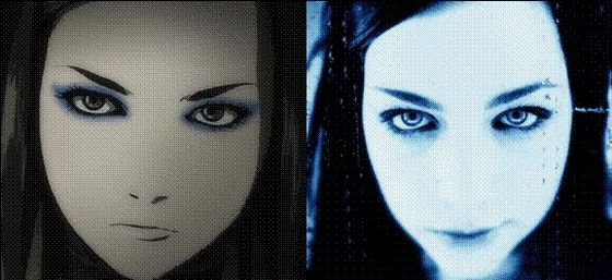 Les ressemblances, sosies d'Amy