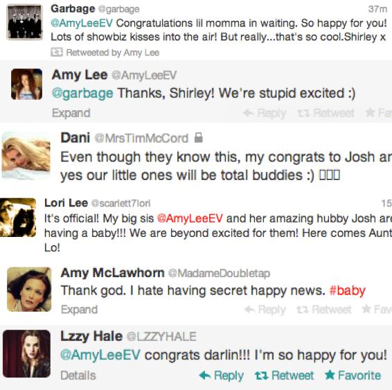 #CongratsAmyAndJosh #CongratulationsAmyLee #EvBaby