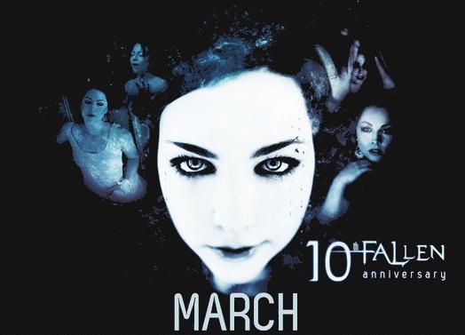 Revivez l'année 2013 d'Evanescence