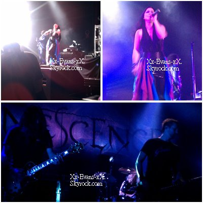 Concert à Oakland 10/10/11