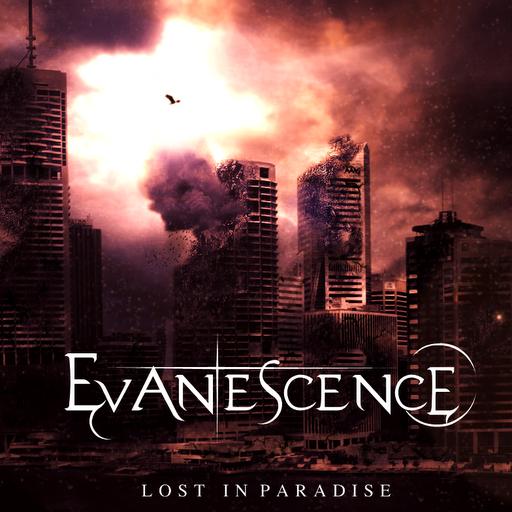 """""""Lost In Paradise"""" ,  cette pochette circule sur le net."""