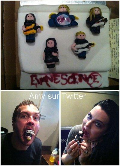 Tentez de gagner un autographe d'Evanescence en vous inscrivant ici