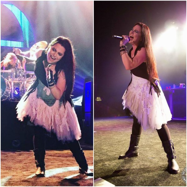 Review : Evanescence - South Side Ballroom, Dallas/TX 28/10/16 Partie II