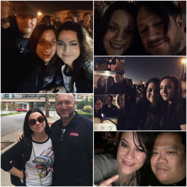 Review : Evanescence - Diamond Ballroom Oklahoma City/OK 30/10/16 Partie I