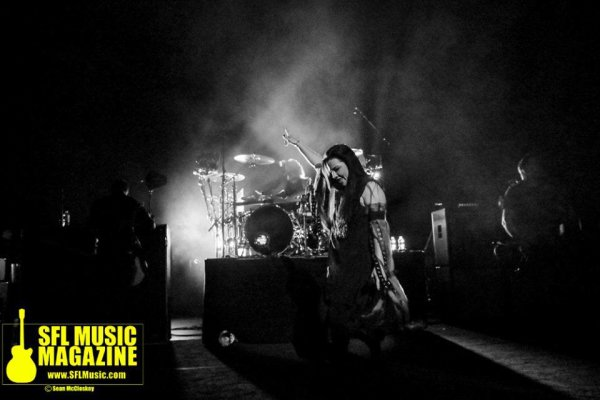 Review : Evanescence - The Fillmore Miami Beach/FL 13/11/16 Partie II