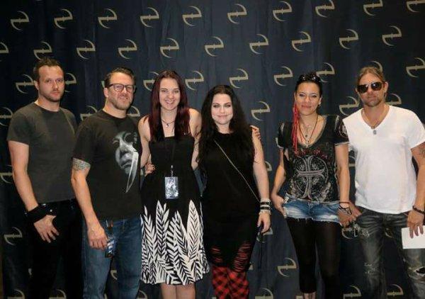 Review : Evanescence - The Fillmore Miami Beach/FL 13/11/16 Partie III