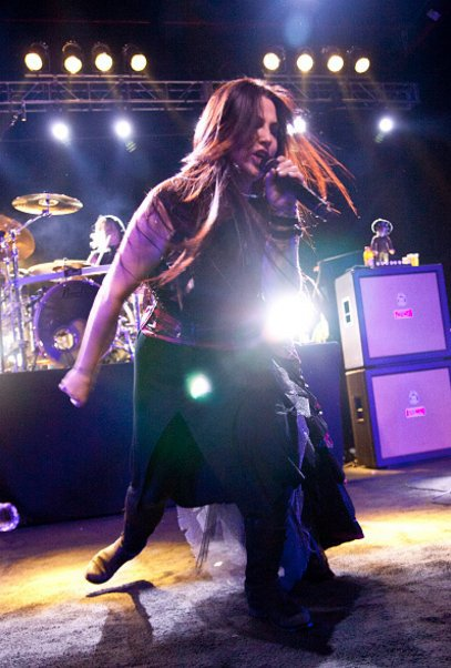 Review : Evanescence - The Fillmore Charlotte/NC 15/11/16 Partie II