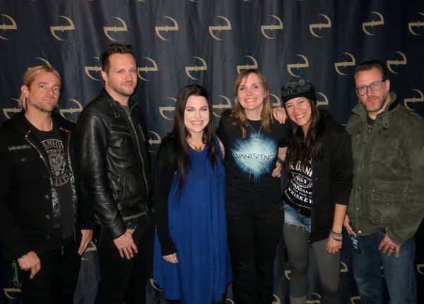 Review : Evanescence - The Wellmont Theatre St Montclair/NJ 22/11/16 Partie I
