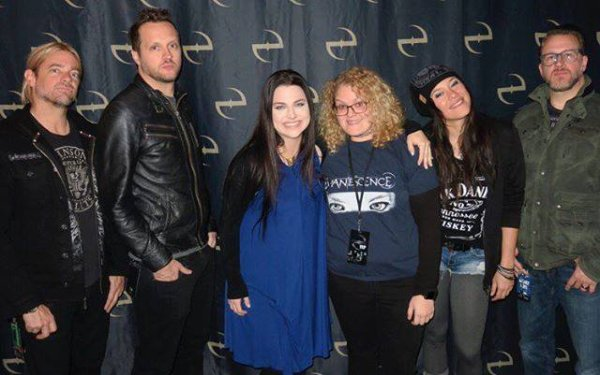 Review : Evanescence - The Wellmont Theatre St Montclair/NJ 22/11/16 Partie I