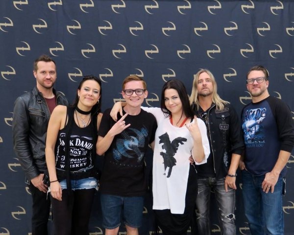 Review : Evanescence - Kink Music Festival, Orlando/FL 12/11/16 Partie III