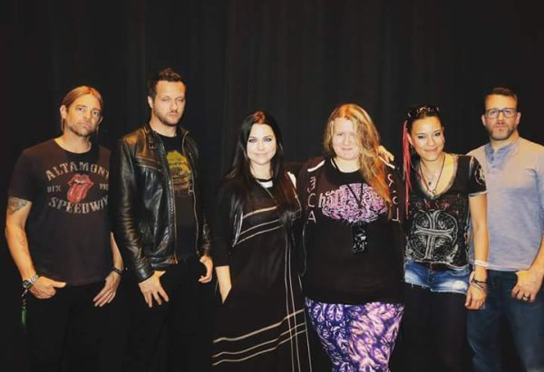 Review : Evanescence - Harrah's Atlantic City/NJ 19/11/16 Partie III