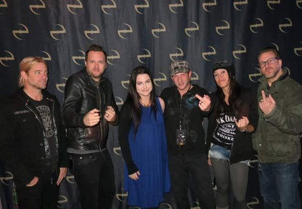 Review : Evanescence - The Wellmont Theatre St Montclair/NJ 22/11/16 Partie III