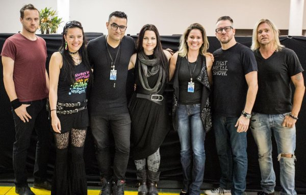Review : Evanescence - Net Live tonight, Brasilia/BR 20/04/17  Partie I