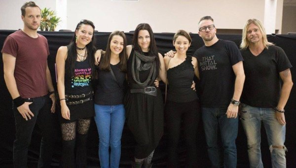 Review : Evanescence - Net Live tonight, Brasilia/BR 20/04/17  Partie II