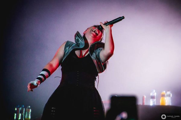 Review : Evanescence - Net Live tonight, Brasilia/BR 20/04/17  Partie IV