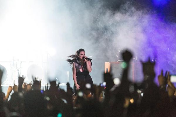 Review : Evanescence - Espaço das Américas, Sao Paulo/BR 23/04/17  Partie II