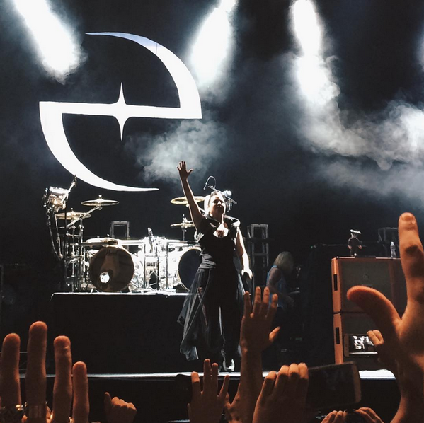 Review : Evanescence - Tecnopolis Buenos Aires/Argentine 02/05/17 Partie II