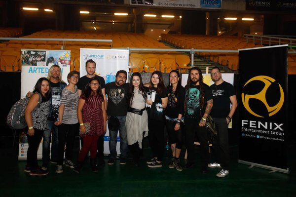Review : Evanescence - Movistar Arena, Santiago/Chili 04/05/2017 Partie I