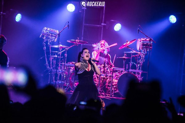 Review : Evanescence - Movistar Arena, Santiago/Chili 04/05/2017 Partie III