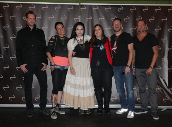 Review : Evanescence - Eventim Apollo/Londres 13/06/17 Partie I