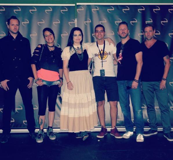 Review : Evanescence - Eventim Apollo/Londres 13/06/17 Partie I