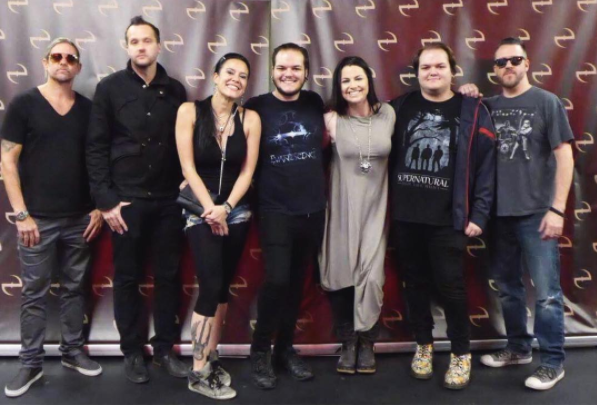 Review : Evanescence - Eventim Apollo/Londres 14/06/17 Partie I