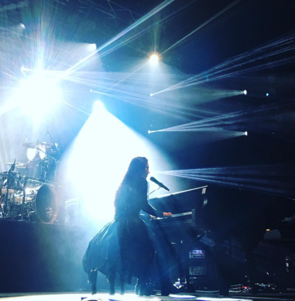 Review : Evanescence - Caribana Festival/Suisse 07/06/17 Partie III