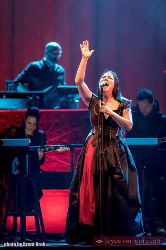 Review : Evanescence/Synthesis Live - Windsor 09/12/17 Partie III