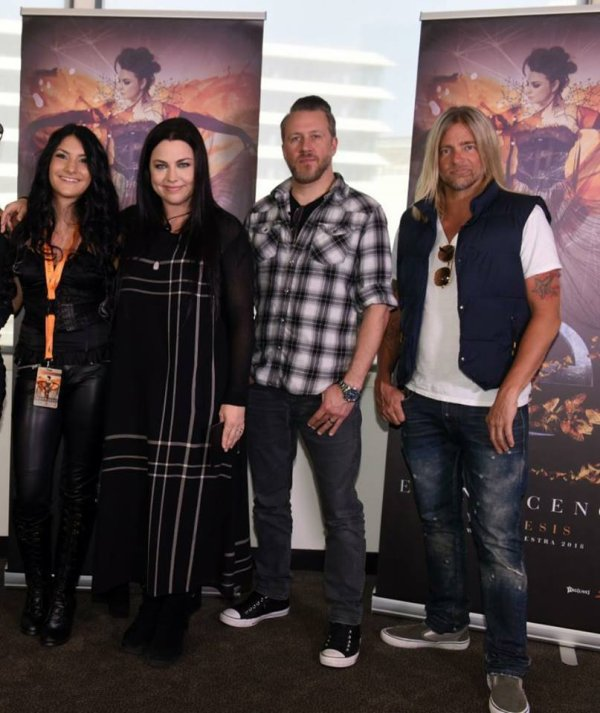 Review : Evanescence/Synthesis Live - Melbourne/Australie 16/02/18 Partie I