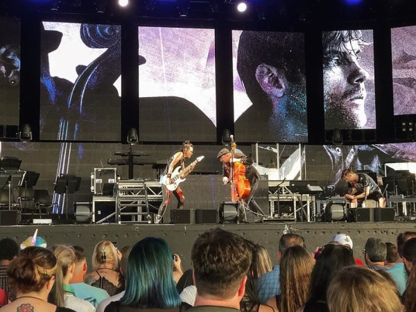Review : SynthesisLive/Ft Lindsey Stirling - Raleigh 21/07/18 Partie I