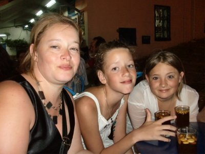 ma maman,amel et moi