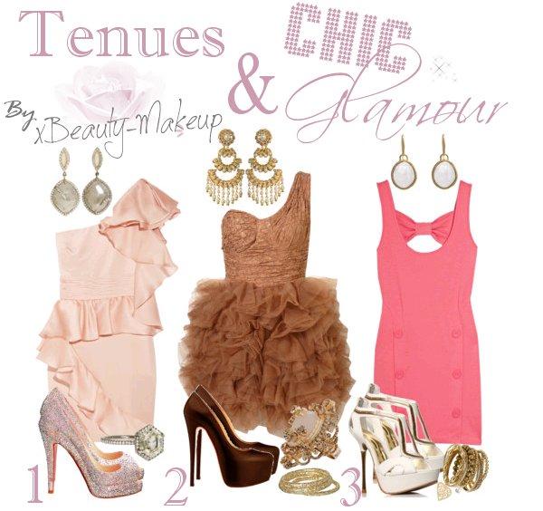 ►Article n°8: 3 jolies tenues Chic & Glamour pour les fètes de cet été :)