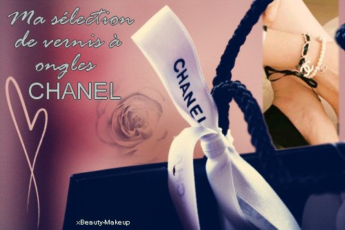 ►Article n°10: Ma sélection de vernis à ongles Chanel pour cet été !