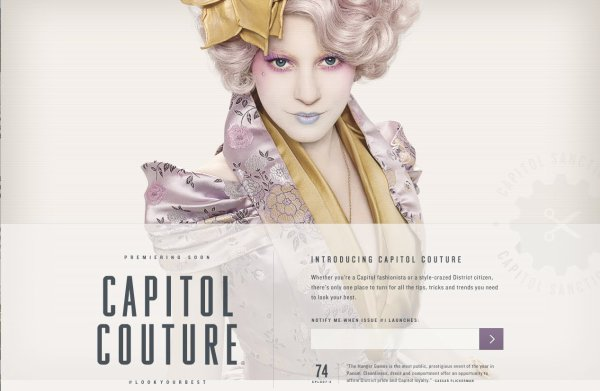 Fausses Pubs and Capitol Couture