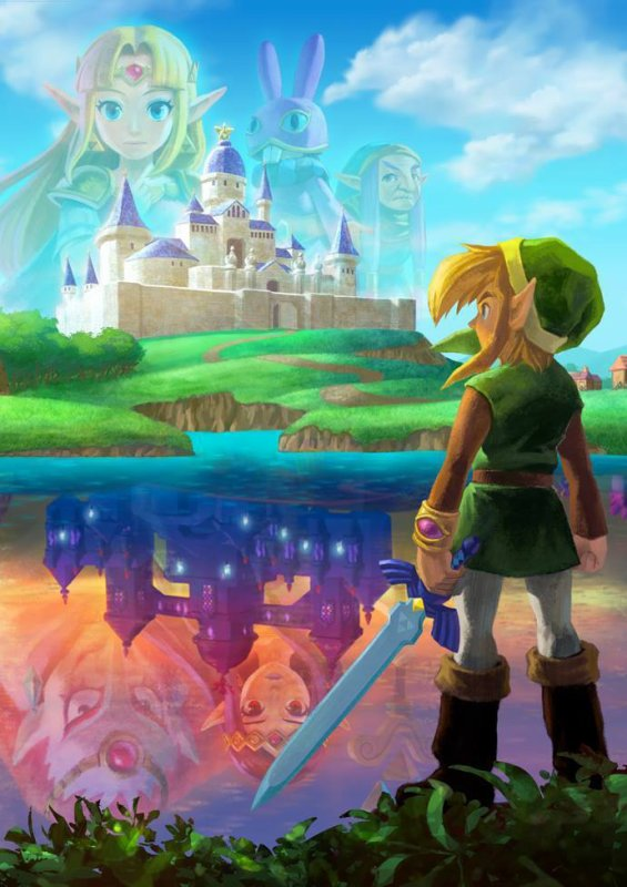 Zelda:A Link Between Worlds!!