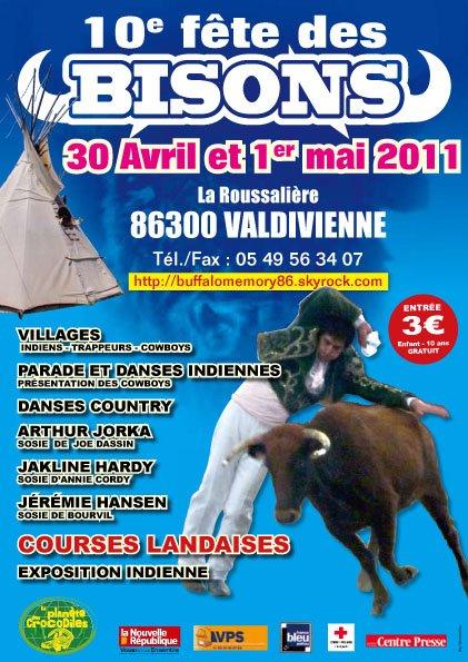FÊTE DES BISONS DU 30 AVRIL ET 1er MAI 2011