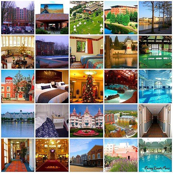 Les hotels Disney
