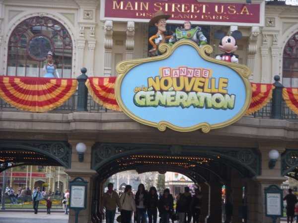 Séjour du 21, 22, 23 & 24 Avril 2o1o à DisneyLand Resort Paris