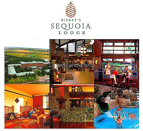 Disney 39 s sequoia lodge disneylandxparis est en plein for Hotel sequoia lodge piscine