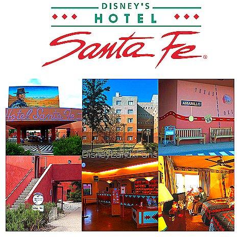 Disney 39 s hotel santa fe disneylandxparis est en plein relooking - Chambre hotel santa fe disney ...
