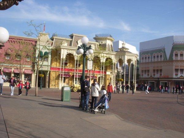 Des travaux ont commencés à Main Street comme chaques années