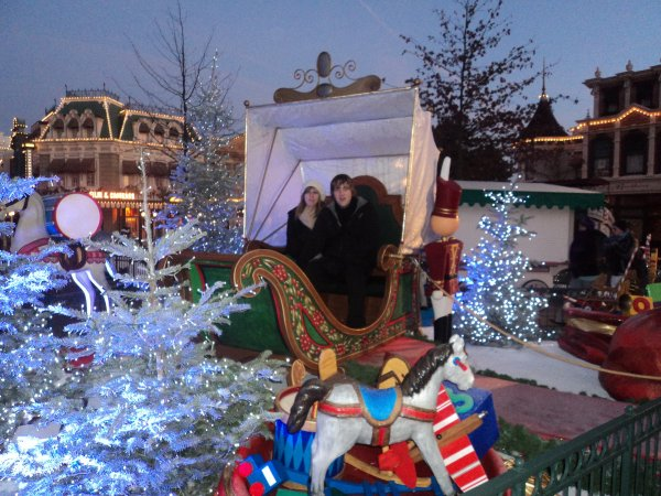 Séjour à DisneyLand début Décembre 2011