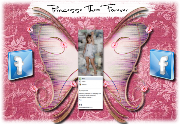 "Page Fan Facebook ""Princesse Thea Forever"""
