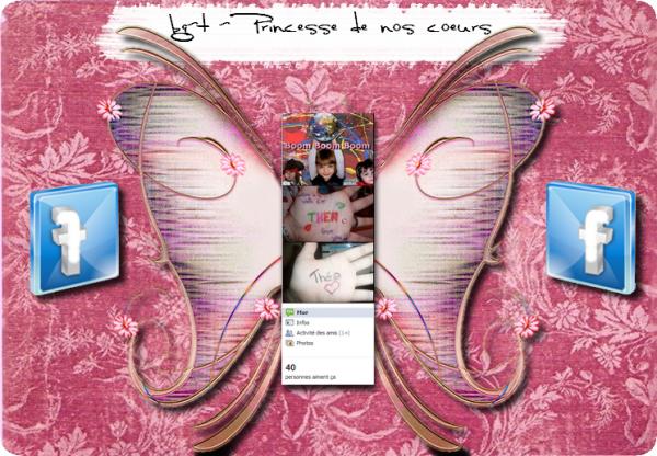 """Page Fan Facebook """"BabyGirl-Thea - Princesse de nos coeurs"""""""