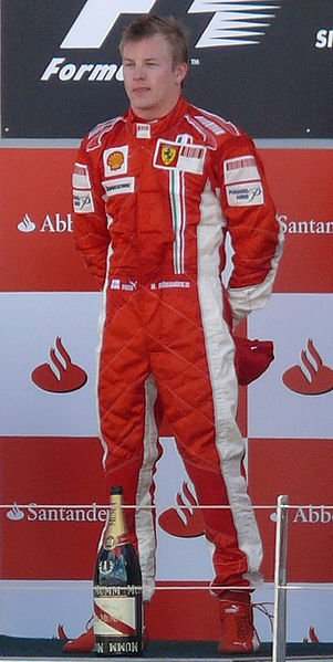 En 2007, Kimi Räikkönen remporte le titre de champion du monde de Formule 1 pour sa première saison chez Ferrari...