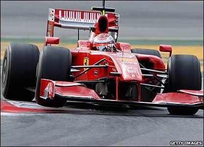 Une dernière saison chez Ferrari pour Kimi Räikkönen en 2009...
