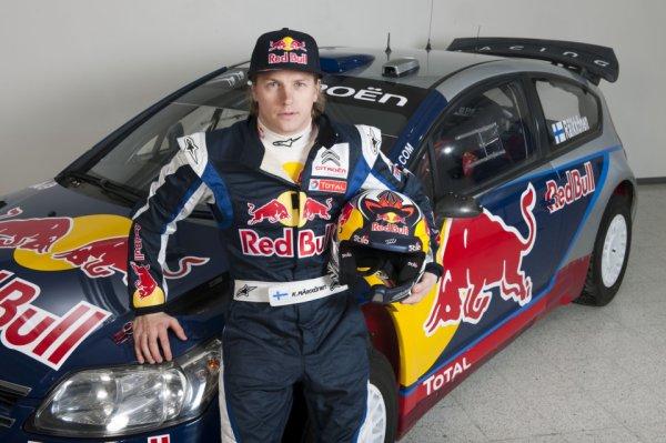 Kimi Räikkönen s'engage en Rallye en 2010 et 2011