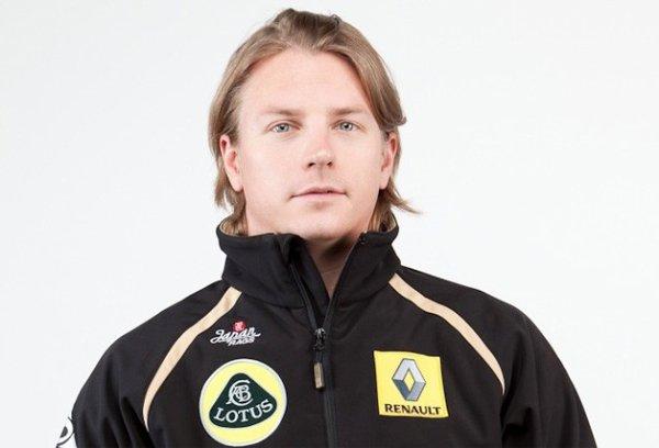 Kimi Räikkönen revient en Formule 1 chez Lotus en 2012...