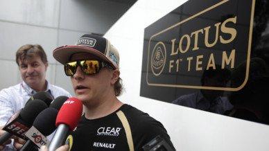 Räikkönen perd 5 places sur la grille de départ en Malaisie en 2012...