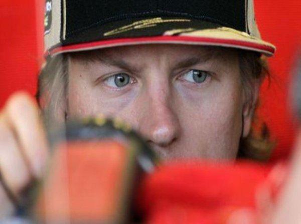 Räikkönen jouait la pole position en Malaisie...